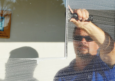 Window cleaning in Torrance, California